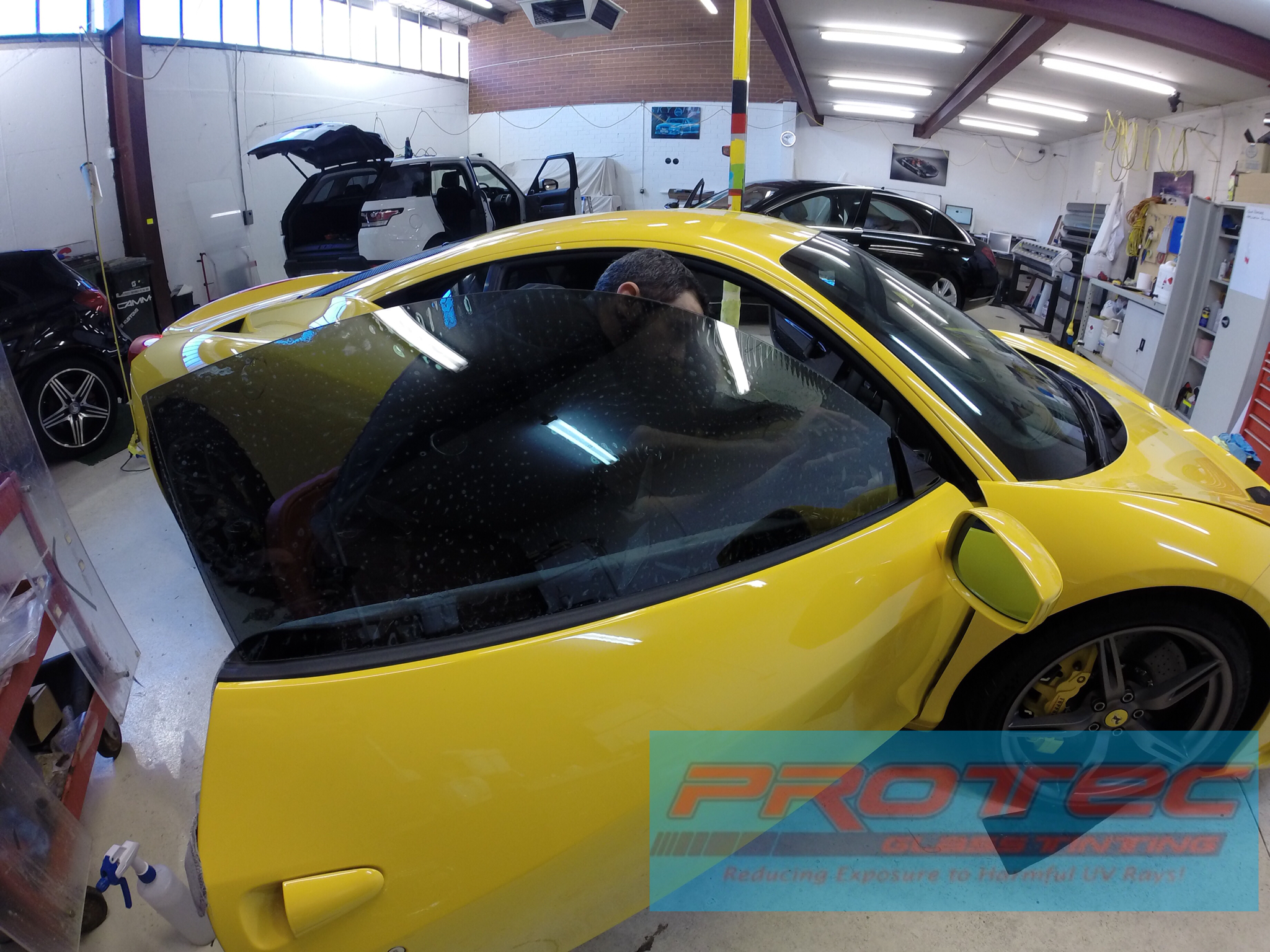 458 Speciale Car window tinting